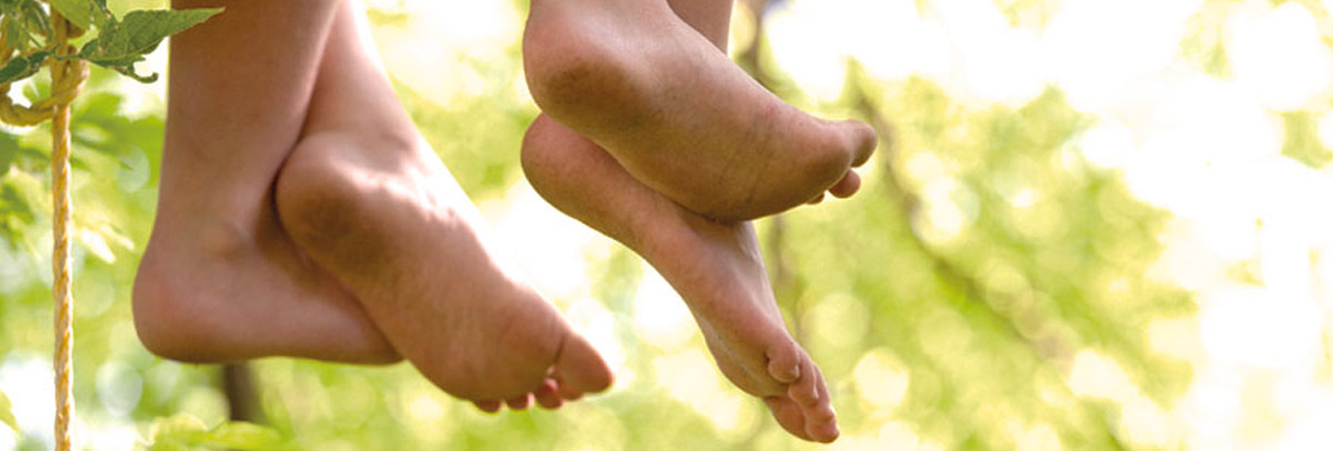 Children's feet that may need to be seen by a podiatrist for children near Bayswater